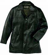レインフォレスト レザー カーコート(ブラック)/RFT RAINFOREST Smooth Lamb Leather Car Coat (Black)