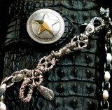 ファニー ライダースウォレット(ホーンバックナイルクロコダイル・ブラック/1$モーガンスター・SLOW265000)/Funny Rider's Wallet(Horn Back Nile Crocodile・Black/1$MorganSTAR)