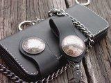 ファニー ライダースウォレット(ブラック)/Funny Rider's Wallet 1$Morgan(Black)