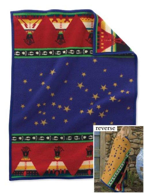 画像クリックで大きく確認できます Click↓1: ペンドルトン ムチャチョ ベビー ブランケット/Pendleton Muchacho Baby Blankets(Chiefs Road)