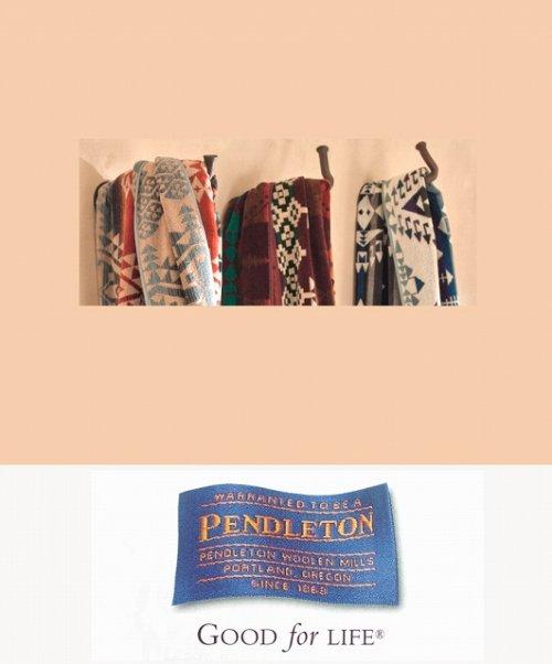 画像クリックで大きく確認できます Click↓3: PENDLETON ペンドルトン ジャガードバスタオル/Pendleton Jerome Spa Towel(Maroon)
