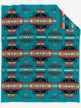ペンドルトン チーフジョセフ ブランケット(ターコイズ)/Pendleton Chief Joseph Collection(Turquoise)