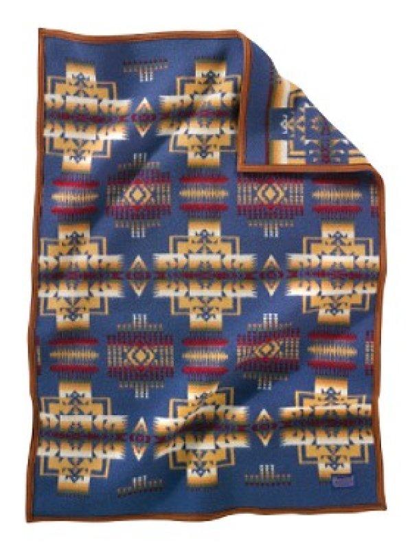 画像1: ペンドルトン チーフジョセフ ムチャチョ ブランケット(デニム)/Pendleton Chief Joseph Muchacho Blanket(Denim)