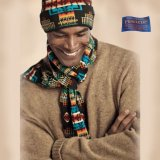 ペンドルトン シェトランドウール セーター(キャメル)/Pendleton Shetland Wool Sweater