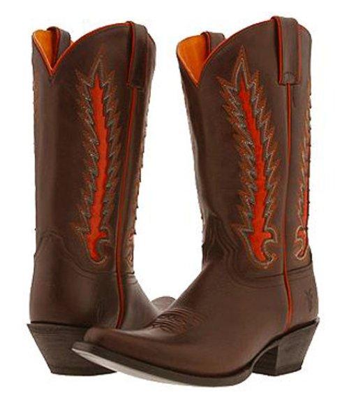 画像クリックで大きく確認できます Click↓1: フライ FRYE ウエスタンブーツ/チョコレート(レディース)/FRYE Western Boots/Chocolate(Women)