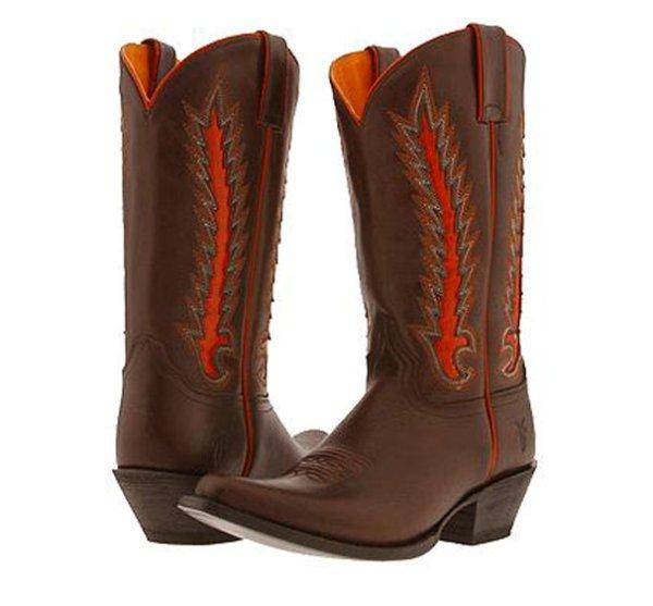 画像1: フライ FRYE ウエスタンブーツ/チョコレート(レディース)/FRYE Western Boots/Chocolate(Women)