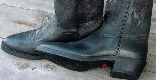 画像クリックで大きく確認できます Click↓3: Double H Boots ウエスタンブーツ(ブラック)/Double H Boots Western Boots(Black)