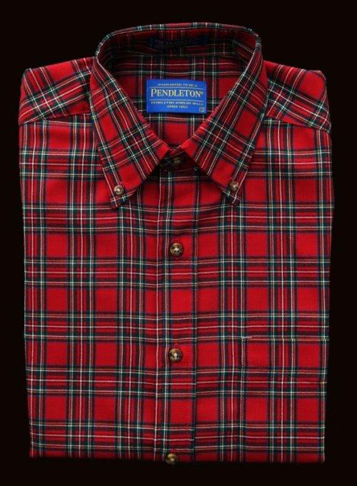 画像クリックで大きく確認できます Click↓2: ペンドルトン サーペンドルトン ウールシャツ(The Stewart Tartan)/Pendleton Sir Pendleton Wool Shirt