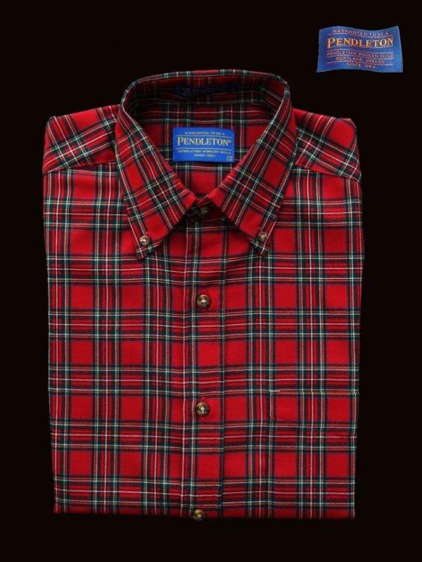 画像1: ペンドルトン サーペンドルトン ウールシャツ(The Stewart Tartan)/Pendleton Sir Pendleton Wool Shirt