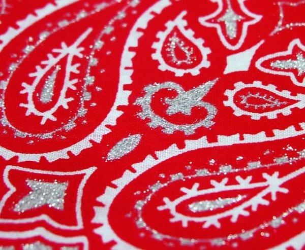 画像3: バンダナ ハバハンク HAV-A-HANK ペイズリー(レッド・ホワイト)/Bandana Paisley Red White