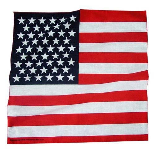 画像クリックで大きく確認できます Click↓1: バンダナ(アメリカ国旗)/Bandana US Flag