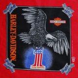ハーレーダビッドソン バンダナ(レッド・HARLEY-DAVIDSON1)/Harley Davidson Bandana
