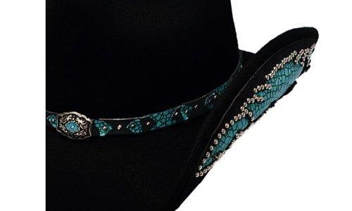 画像クリックで大きく確認できます Click↓2: ブルハイド ウール ハット ナチュラル ビューティー(ブラック)/Bullhide Wool Hat(Natural Beauty/Black)
