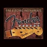 フェンダー Fender ヴィンテージ メタルサイン