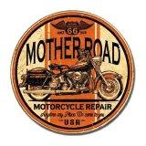 ルート66 Route66 マザーロード モーターサイクル リペアー メタルサイン