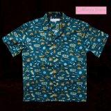 カリフォルニア トロピック USA キャンプシャツ(フィッシング・デニム)/California Tropic Camp Shirt