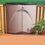 ラバーメイド収納物置・コーナーデッキボックス/Rubbermaid Corner Deck Box