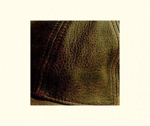 画像クリックで大きく確認できます Click↓2: レザーキャップ(ビンテージブラウン)/Leather Baseball Cap(Brown)