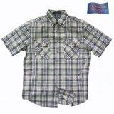 ペンドルトン半袖シャツ(ブループラッド)/Pendleton Short Sleeve Hiker Shirt