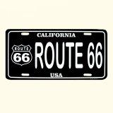 ルート66 ライセンスプレート カリフォルニアUSA/Route66 License Plate