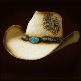 ブルハイド ウェスタンストローハット(ホープ ハズ ウイングス)/BULLHIDE Western Straw Hat HOPE HAS WINGS(Natural)