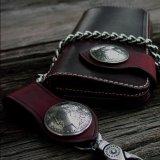 ファニー ライダースウォレット(レッド)/Funny Rider's Wallet 1$Morgan(Red)