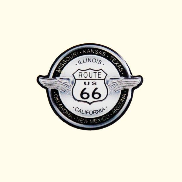 画像1: ルート66 ピンバッジ ステイトウイング/Pin Route66