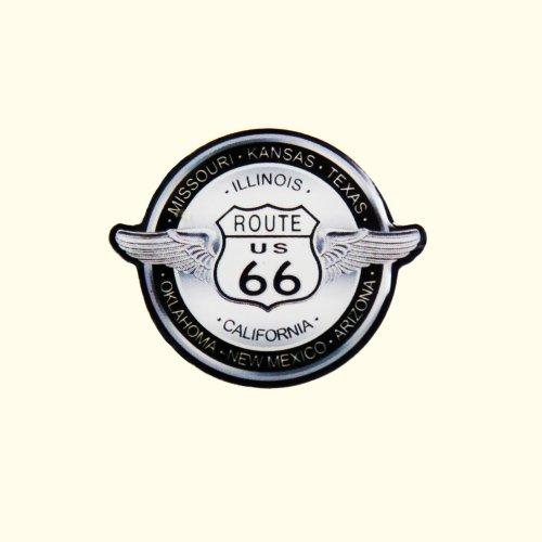 画像クリックで大きく確認できます Click↓1: ルート66 ピンバッジ ステイトウイング/Pin Route66