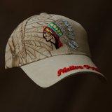 ネイティブプライド キャップ・インディアンデザイン・カーキ/Native Pride Cap Indian