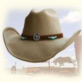 ブルハイド ウール ハット ホースシュー&ロングホーン(キャメル)/Bullhide Wool Hat(Camel)