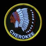 ワッペン インディアン チェロキー CHEROKEE/Patch