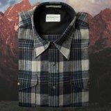 ペンドルトン アウトドア シャツ(ブルー・グレー)XXL/Pendleton Outdoor Shirt