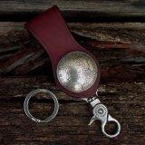 ファニー 1$ループキーホルダー(レッド)/Funny 1$ Loop Key Holder(Red)