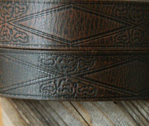 画像クリックで大きく確認できます Click↓2: イーグル バックル レザー ベルト(ブラウン)/Leather Belt(Brown)