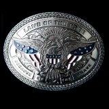 ノコナ ベルト バックル USA イーグル LOF/Nocona Belt Buckle