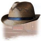 ペンドルトン ストローハット(ブラウン)/Pendleton Straw Hat