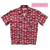 カリフォルニア トロピック USA キャンプシャツ(シェリフバッジ)/California Tropic Camp Shirt