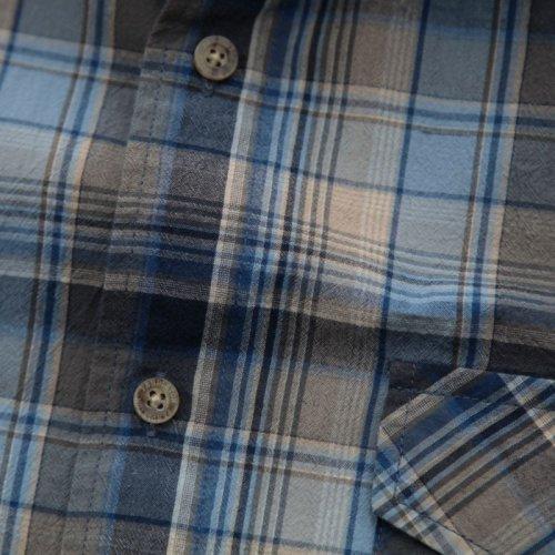 画像クリックで大きく確認できます Click↓2: ペンドルトン 半袖 シャツ(ブルー)L/Pendleton Short Sleeve Shirt