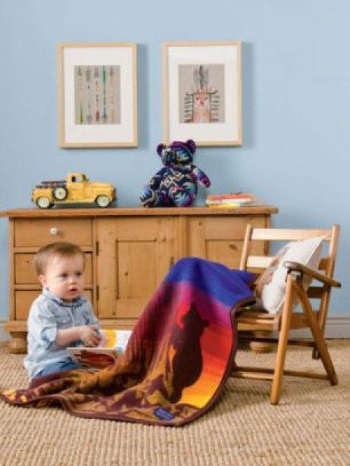 画像クリックで大きく確認できます Click↓3: ペンドルトン ムチャチョ ブランケット(ビッグディッパー)/Pendleton Big Dipper Muchacho Blanket