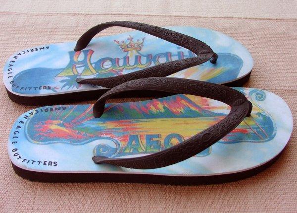 画像2: アメリカンイーグルアウトフィッターズ ビーチサンダル ハワイ(メンズ)/AE Flip Flop Hawaii(Mens)