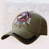 ネイティブプライド キャップ・イーグル&フェザー アーミーグリーン/Native Pride Cap Eagle&Feather