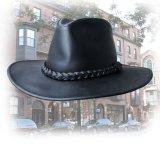 プレミアム レザー ハット(ブラック)XL/Genuine Leather Hat(Black)