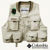 コロンビア フィッシングベスト/Columbia Fishing Vest(Fossil)