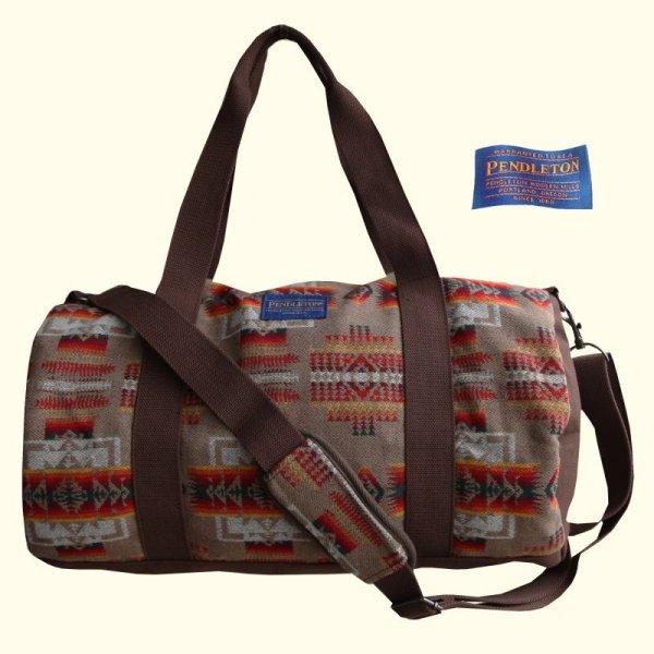 画像1: ペンドルトン ダッフルバッグ(チーフジョセフ・タン)/Pendleton Duffle Bag Chief Joseph(Tan)