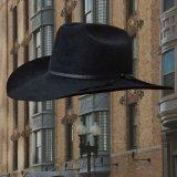 ファーフェルト カウボーイハット(ブラック)/Cowboy Hat-Fur Felt(Black)