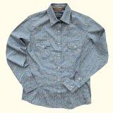 パンハンドルスリム ウエスタン シャツ ペイズリー・ブルー(長袖/レディース)/Panhandle Slim Long Sleeve Western Shirt(Women's)