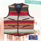 ペンドルトン サンタフェ ストライプ ベスト(タン)/Pendleton Santa Fe Stripe Vest