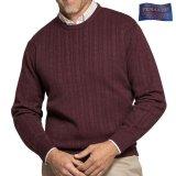 ペンドルトン クルーネック セーター(バーガンディー)M/Pendleton Sweater(Burgundy)