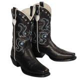 ステットソン ウエスタンブーツ・ブラック(レディース)/Stetson Western Boots(Women)