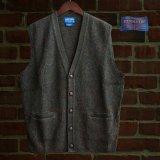 ペンドルトン シェトランド ウール ベスト(ブルーミックス)/Pendleton Shetland Wool Vest